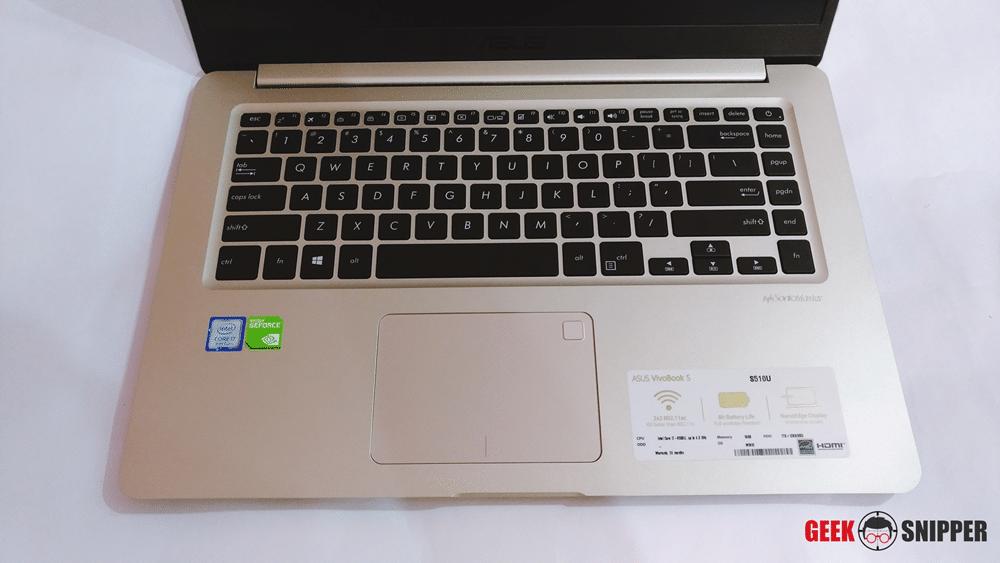 ASUS Vivobook S510 Review