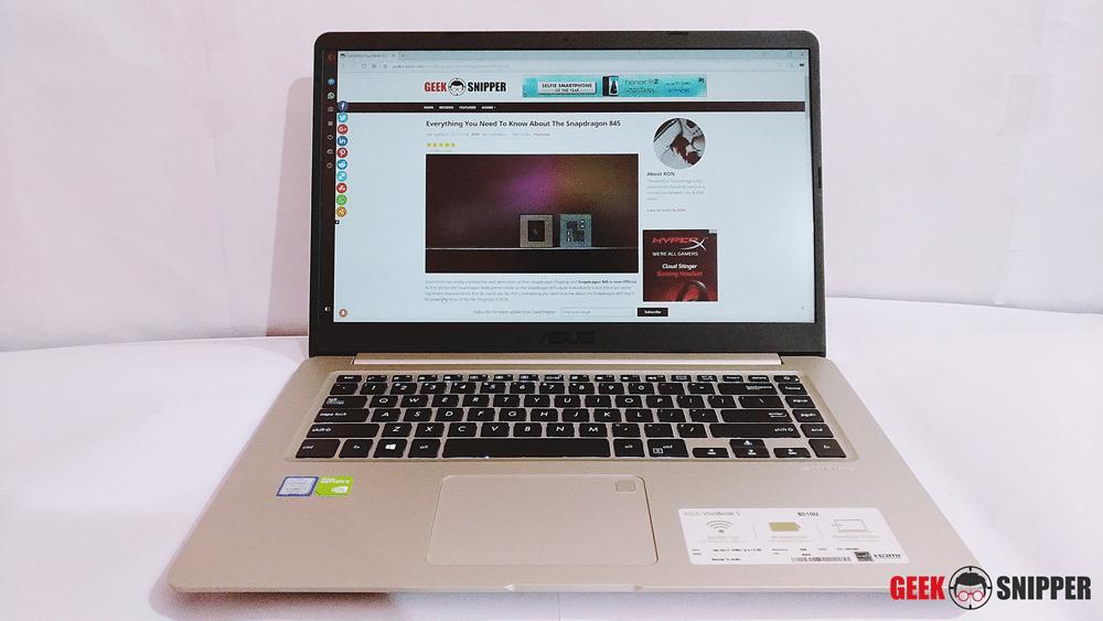 ASUS Vivobook S510 Display