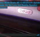 Chinese Beats Bluetooth Speaker BE-13 Review