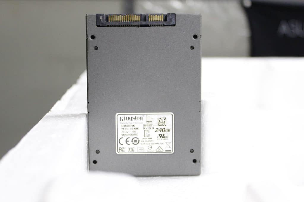 System-Kingston A400 SSD Review