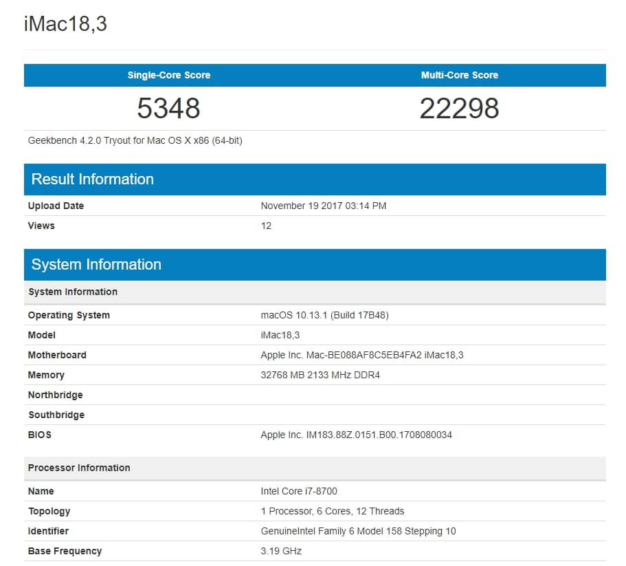 iMac-27-8700-1 Geekbench Apple may Refresh the iMacs