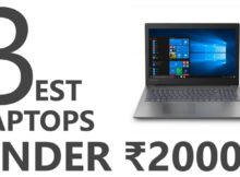 Best Laptops Under 20000 Rupees In 2019